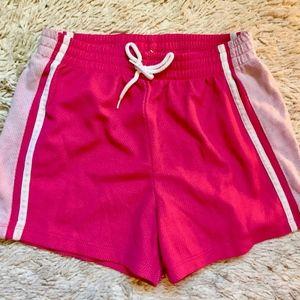 Bright Pink Workout Shorts
